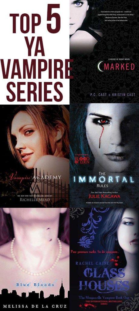 Top 5 Ya Vampire Books Eat Love Wear Pinterest