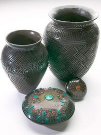 Pottery from Cherokee nation.