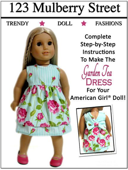 96 best Crafts: American Girl Clothes I Dream of Sewing images on ...