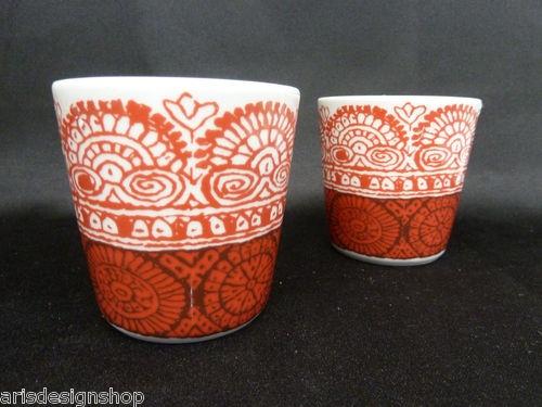 Marimekko Finland Dombra Mugs Design Maija Isola 2 pcs $99