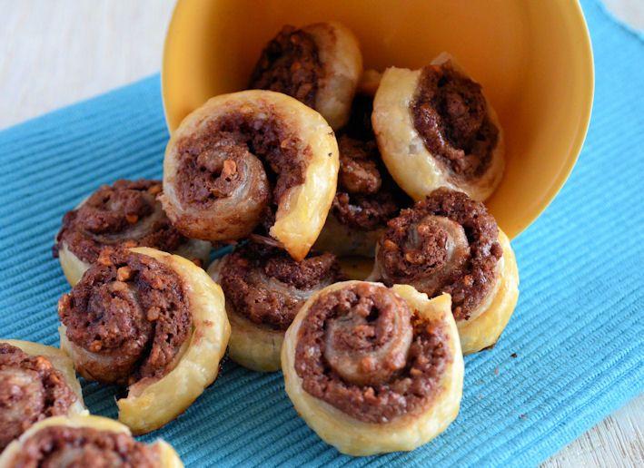 Chocolade-Hazelnoot spiralen - Laura's Bakery