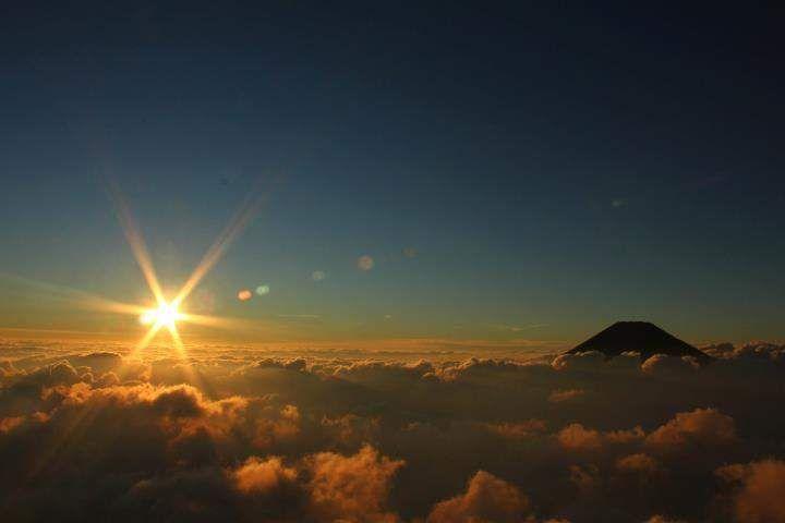 sunrise Mt.Sindoro