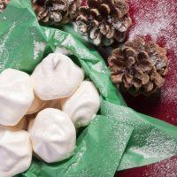 2 ingredient Meringue Cookies