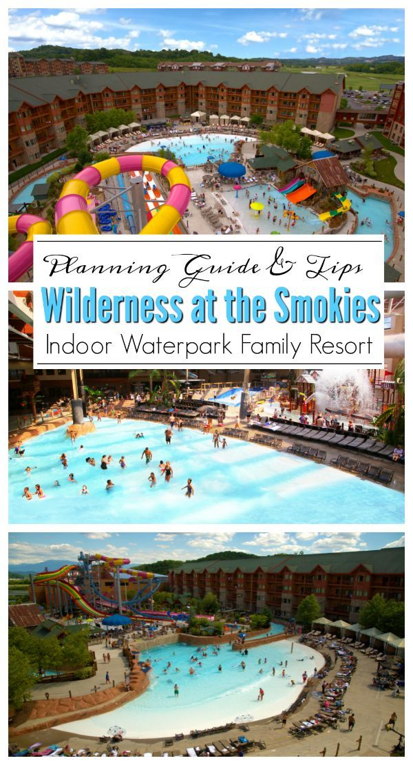 Ad The Wilderness At The Smokies Features Indoor And Outdoor Waterparks A Family Entertainment C Wilderness At The Smokies Family Friendly Resorts Water Park
