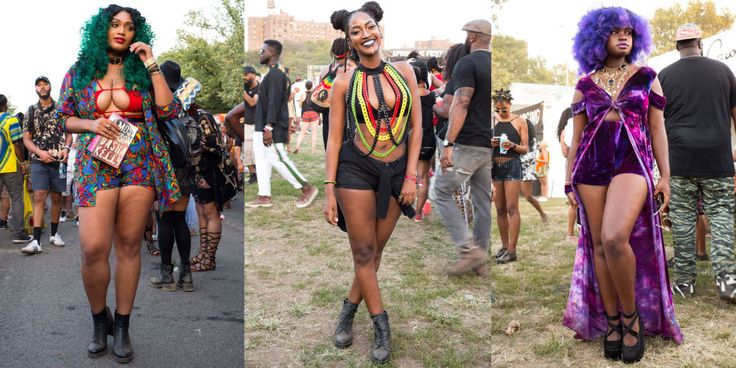 42 Flawless Outfits from Afropunk Festival Guaranteed to Give You Life