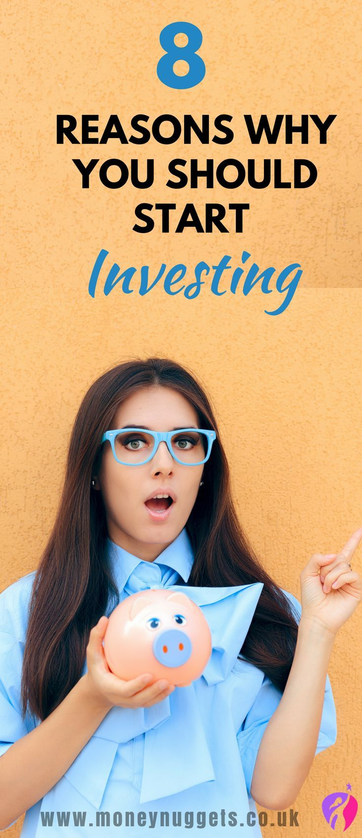 8 Reasons to Invest your money. Investing is a huge opportunity you don't want to miss out on. Not investing is like throwing money away and just in case you are thinking I don't need to invest my money here are some reasons why you should start investing, and make your money work harder.