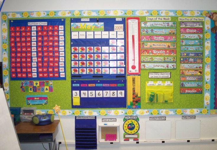 Kindergarten Calendar Displays : Best kinder math wall ideas on pinterest