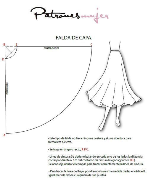 Trazado de falda                                                                                                                                                                                 Más