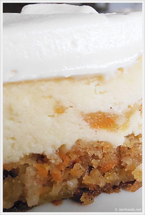 Cheesecake Factory Copycat - Carrot Cake Cheesecake
