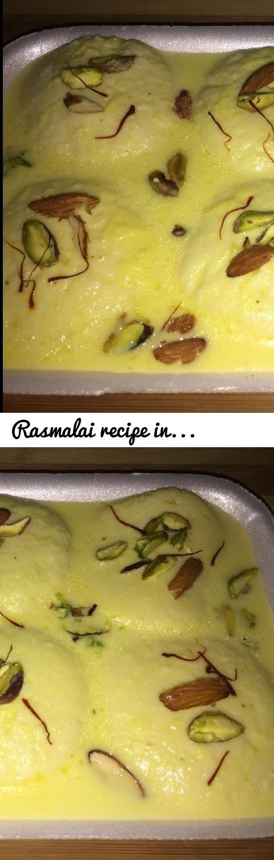 Rasmalai Recipe In Hindi   Festival Season Special   Homemade Rasmalai  Recipe   Sweet Dish Recipe