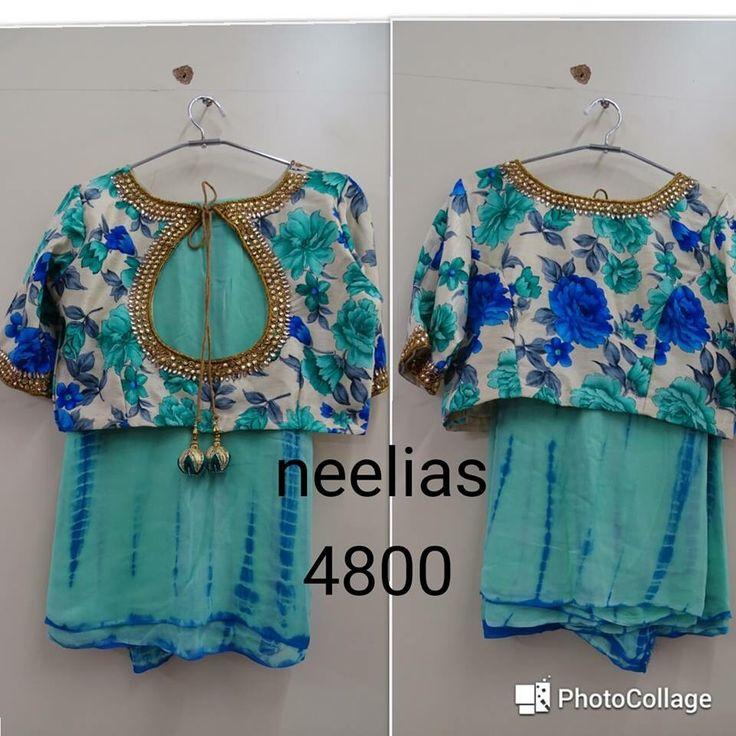 Diy saree blouse design