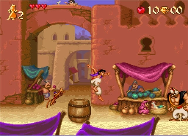 Absolutely loved the Aladdin game