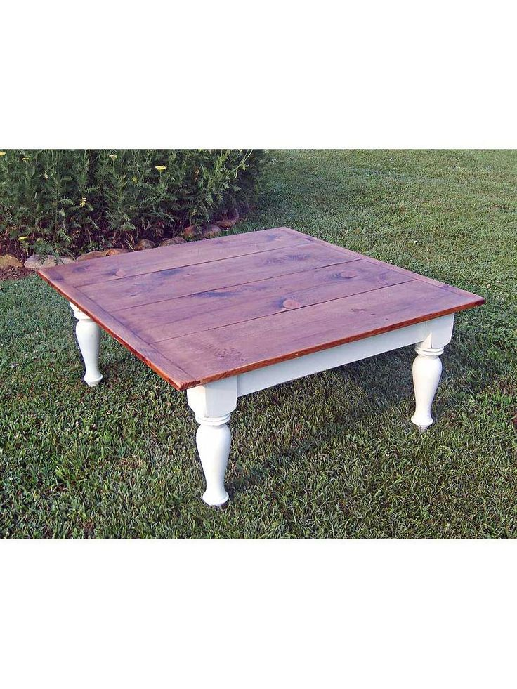 Cottage Home®   The Country Farm Estate Leg Coffee Table Is An Elegant  Table With