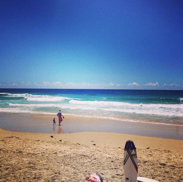 Heavens beach