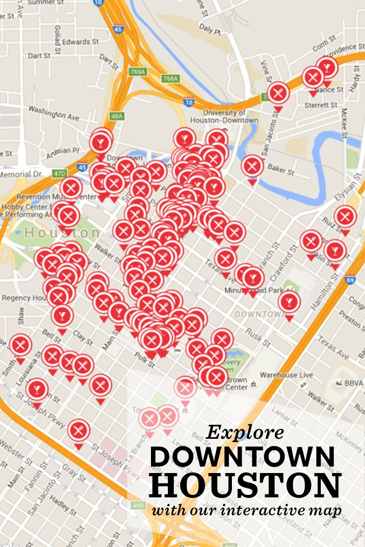 Best Images About Houston Texas On Pinterest Interactive Map - Map of houston hotels downtown