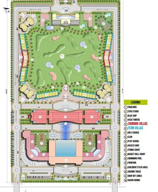 Brys bigg villas layout plan greater noida by brys group for 4 bhk plan layout