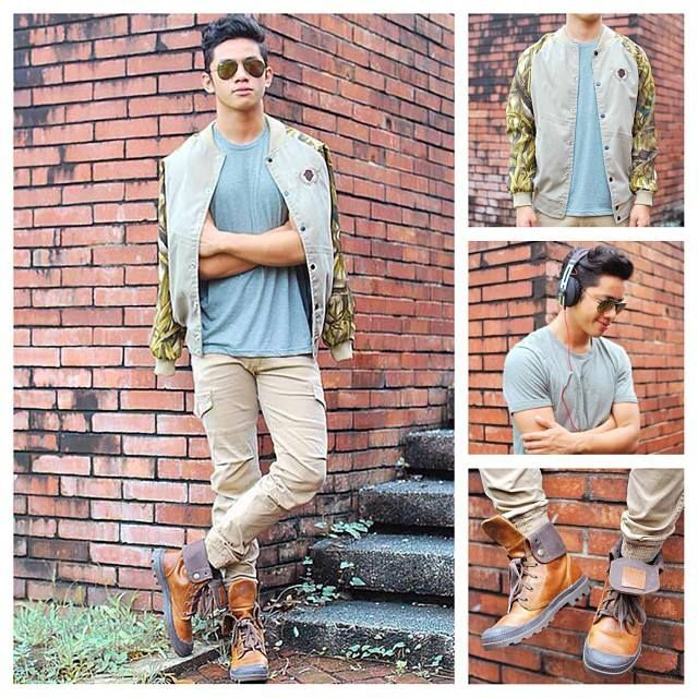 David John Guison Filipino Pinoy Fashion Blogger Philippines Urban Street Style
