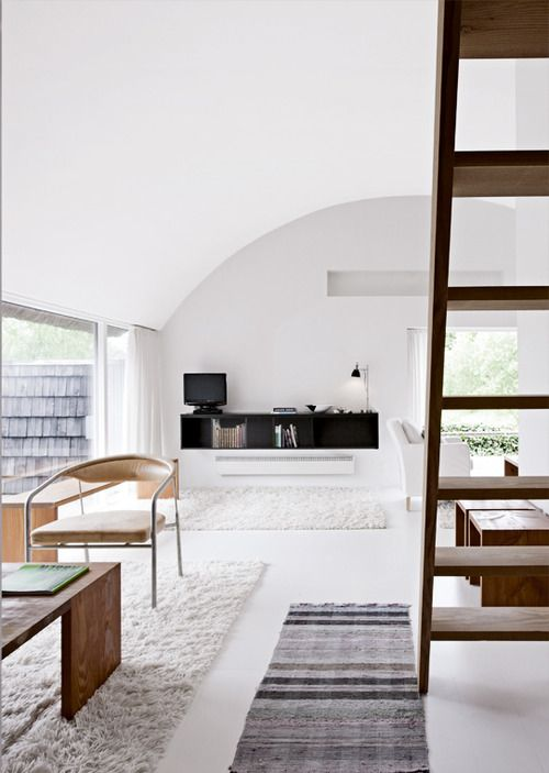 fuzzy rug. Yes or no?: Interior Design, Idea, Living Rooms, Inspiration, Scandinavian Interiors, Summer House, Livingroom, Architecture, Space