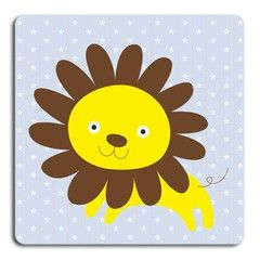 Lejon  http://www.barndekor.se/products/wallrounder-lejon-wrq0105