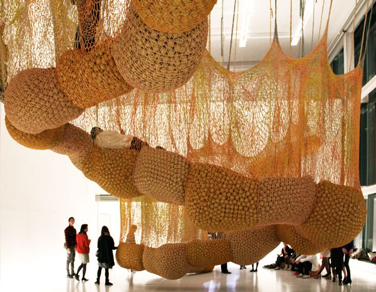 I was in the exhibition in Tokyo! :D  ernesto neto: madness is part of life