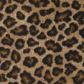 Considering as a stair runner... STAINMASTER�Distinctive Design Collection Leopard Fashion Forward Indoor Carpet