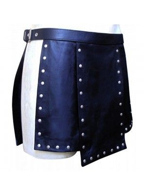Our Warrior Gladiator Leather Kilt are built to last and will withstand any manly task you put them up to. The style is traditional with added functionality