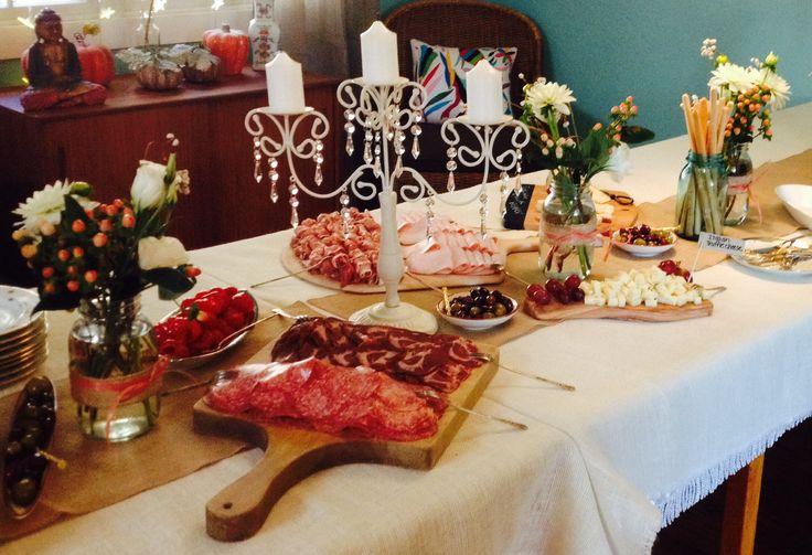 Italian Themed Bridal Shower Party Ideas Pinterest