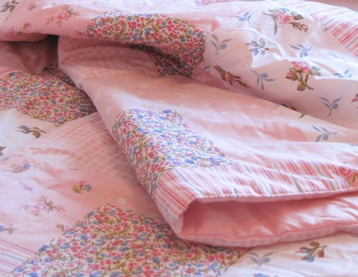 Cobertor Floreado