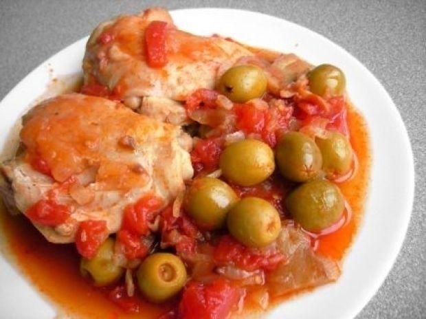 Куриные кусочки в соусе а-ля итальянский