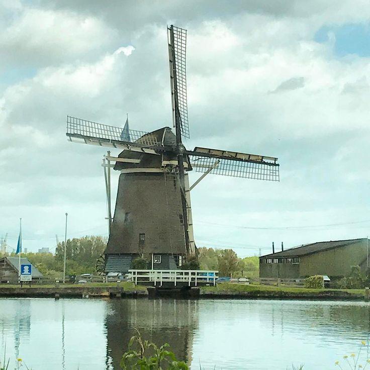 "Windmill, Amsterdam Netherlands 🇳🇱 _shutterbug_ (@_shutterbug_bec_) on Instagram: ""Afscheid Amsterdam! I'll definitely be back to visit! 🇳🇱 🛵🚲 #amsterdam #windmill #landofclogs…"""