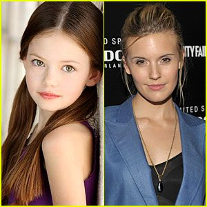 Maggie Grace Joins Twilight Clan -- Mackenzie Foy Too! (Irena and Renesme)