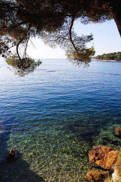Plava Laguna (Blue Lagune), Porec, Croatia. One of the most beautiful places on earth