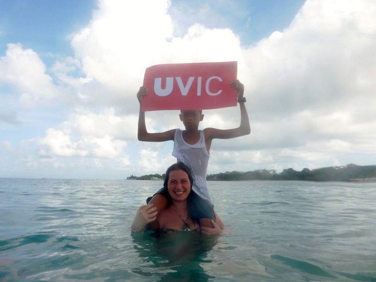 Sara Marin Torres, estudiant de Fisioteràpia, ha realitzat les pràctiques a Nicaragua i participa al concurs La UVic al Món amb aquesta fotografia passada per aigua. 'Veure món, afrontar perills, traspassar murs, apropar-se als demés, trobar-me a mi mateixa i sentir…' #CampusInternacional #UVic #uviclife #LaUVicAlMón #fisioterapia #Nicaragua