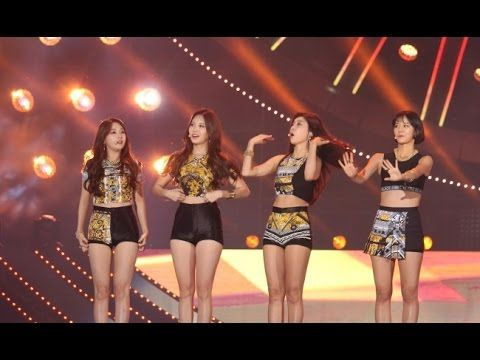 Girl's Day Put on a Great Performance at the One K Concert in Seoul Korea