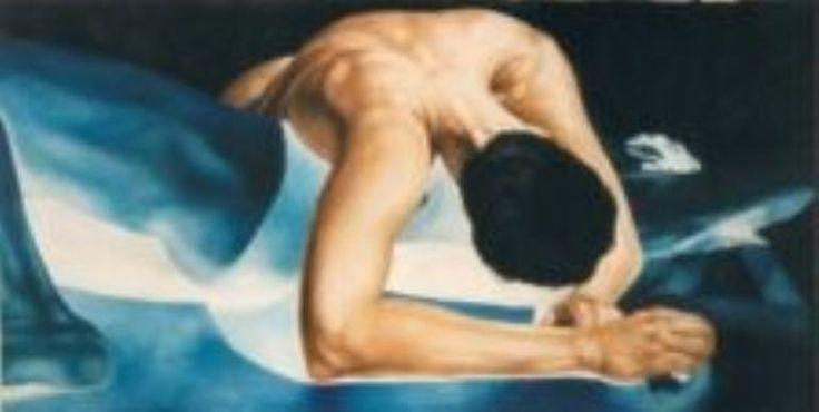 "Saatchi Art Artist Gry Hege Rinaldo; , ""Untitled"" #art.  Oil on canvas."