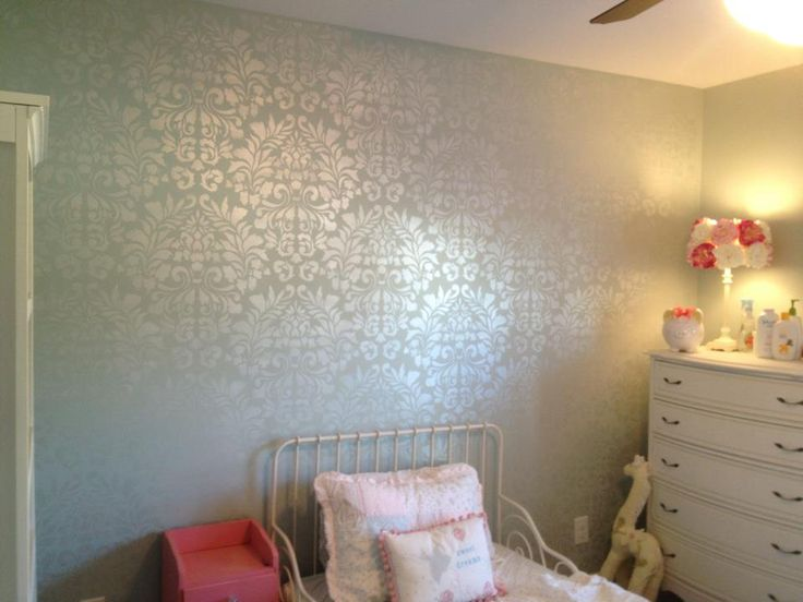 Rustoleum Metallic Accents On Painted Wall