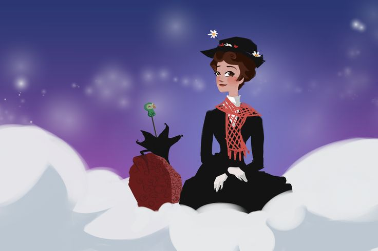 Mary on a Cloud by BetterthanBunnies