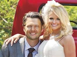 Blake Sheldon and Miranda Lambert..I Love them both! (:  fav songs from them 'old red'- Blake  'Dry town' Miranda