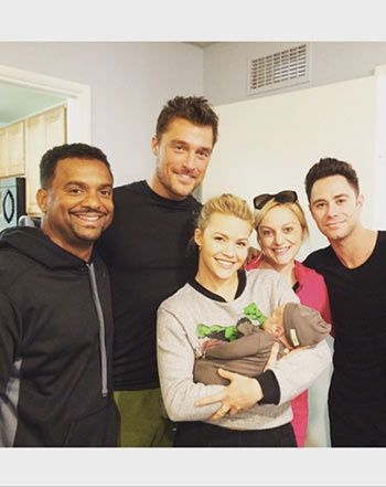 Alfonso Ribeiro Introduces Baby Boy Anders to DWTS Family: Photo! - Us Weekly