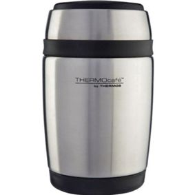 #Thermocafe Barrel Stainless Steel Food #Flask - 0.4L