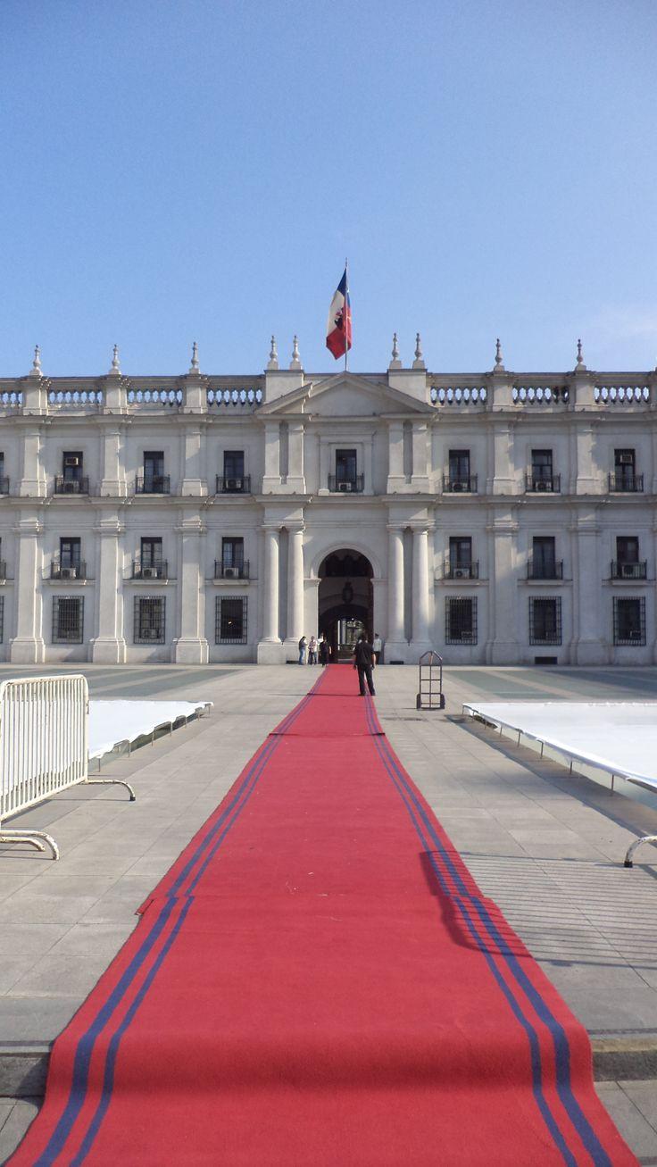 Palacio de La Moneda, Santiago , Chile