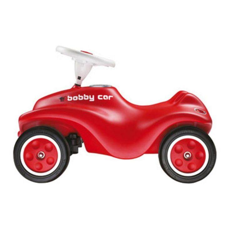 Big Bobby Car Riding Push Toy - Red - BIG-56200