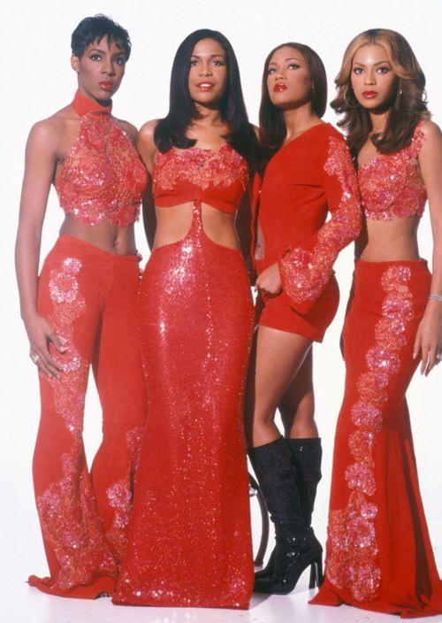 Destiny's Child in Tina Knowles Originals