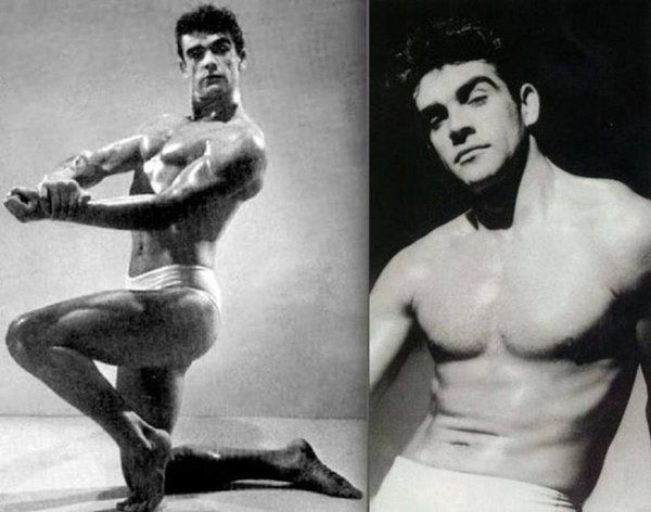 Sean Connery, Mr. Universe competition, 1953.