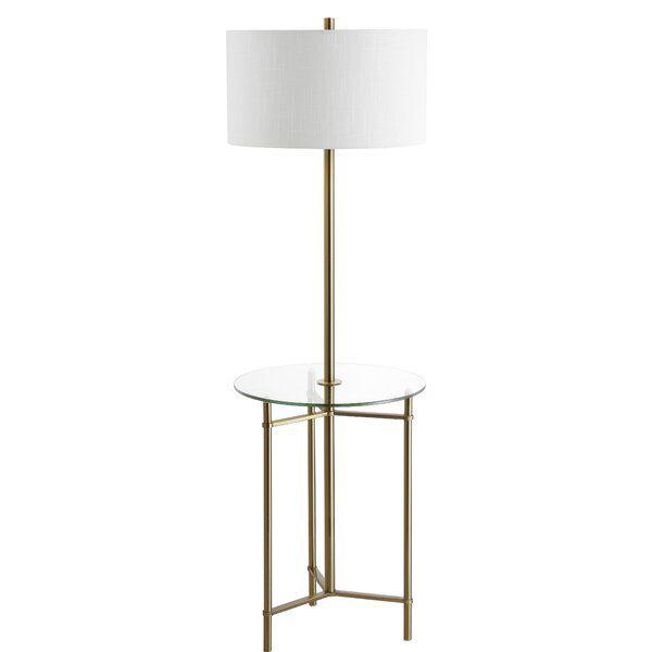 Pretor 59 Tray Table Floor Lamp Glass Floor Lamp Floor Lamp Table Floor Lamp