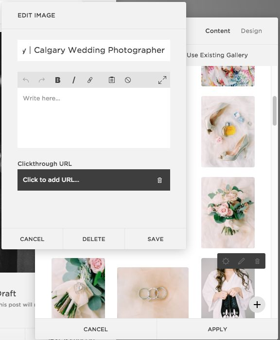 Adding 'alt text' in a Squarespace Blog Post   The Editor's Touch