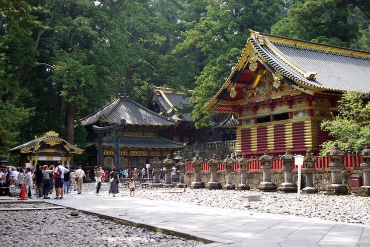 Shrines and Temples of Nikko, Japan #UNESCO