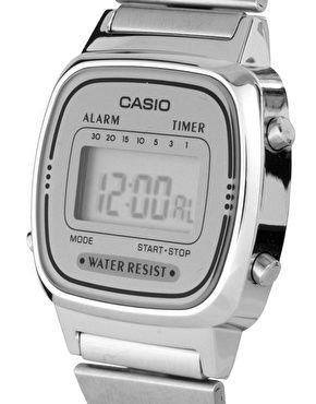 Enlarge Casio Silver Mini Digital Watch