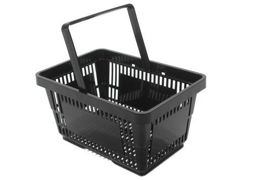 Great Black 21LTR Shopping Basket