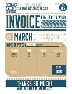 the 25+ best freelance invoice template ideas on pinterest, Invoice templates